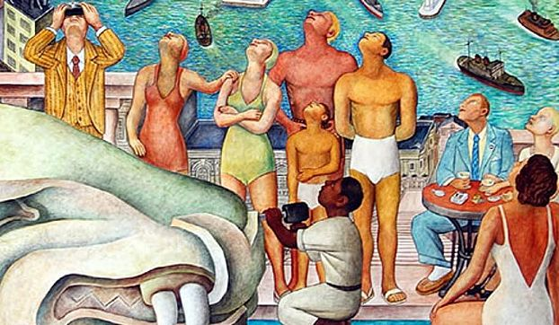 Pan American Unity Mural by Diego Rivera